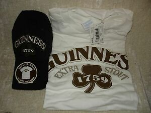 GUINNESS-BEER-HAT-COMBO-T-SHIRT-SIZE-XL-NWT