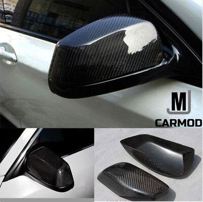 Fit For Maserati GT GC Quattroporte Carbon Fiber Side Mirror Cover Cap 2007-2017