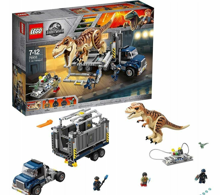 LEGO Jurassic World Carnotaurus - Flucht in der Gyrosphere (75929) NEU OVP