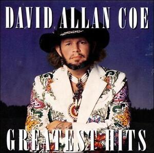 FREE US SHIP. on ANY 3+ CDs! USED,MINT CD David Allan Coe: Greatest Hits