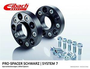 5L, 09- Eibach ABE Spurverbreiterung schwarz 60mm System 7 BMW 5er F10,F18 Lim