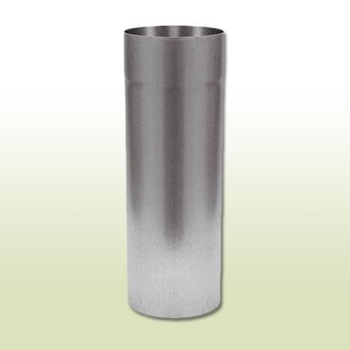 Aluminium Fallrohr DN 87 Länge 0,25 Meter