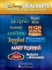 15 Disney Vocal Duets from Stage and Screen by Hal Leonard Corporation (Paperback, 2014)