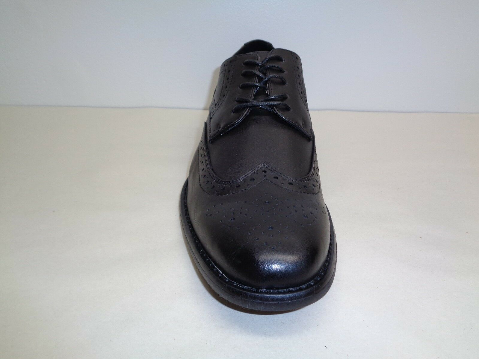 Kenneth Cole Unlisted Size 10.5 DESIGN 30121 Black Lace Oxfords New Mens Shoes