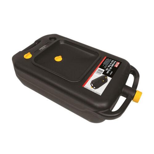 Toledo Portable Oil Drain Pan 10L 4WD SUV Camper Automotive Trade Quality