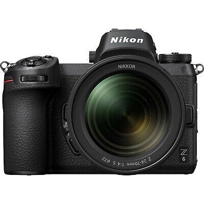Nuevo Nikon Z6 Digital Mirrorless Camera with 24-70mm Lens