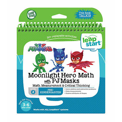Leapfrog Leapstart Level 2, PJ Masks Moonlight Hero Maths 30+ Page Activity Book