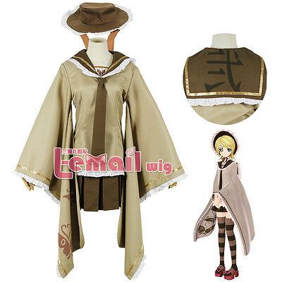 Vocaloid Kagamine Rin Senbon Sakura Clothing Cosplay Costume Custom Made Hat