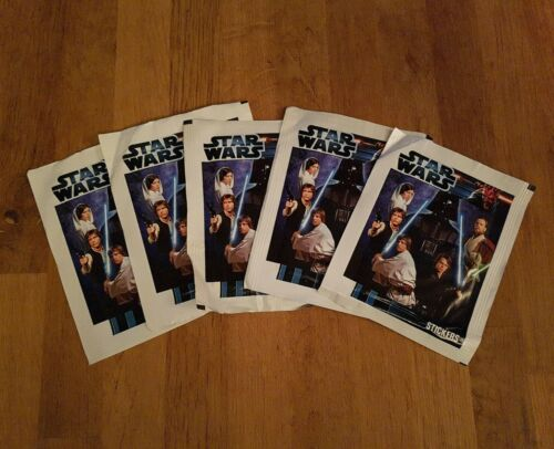 Topps Star Wars 2012-102 Sealed Sticker Packets
