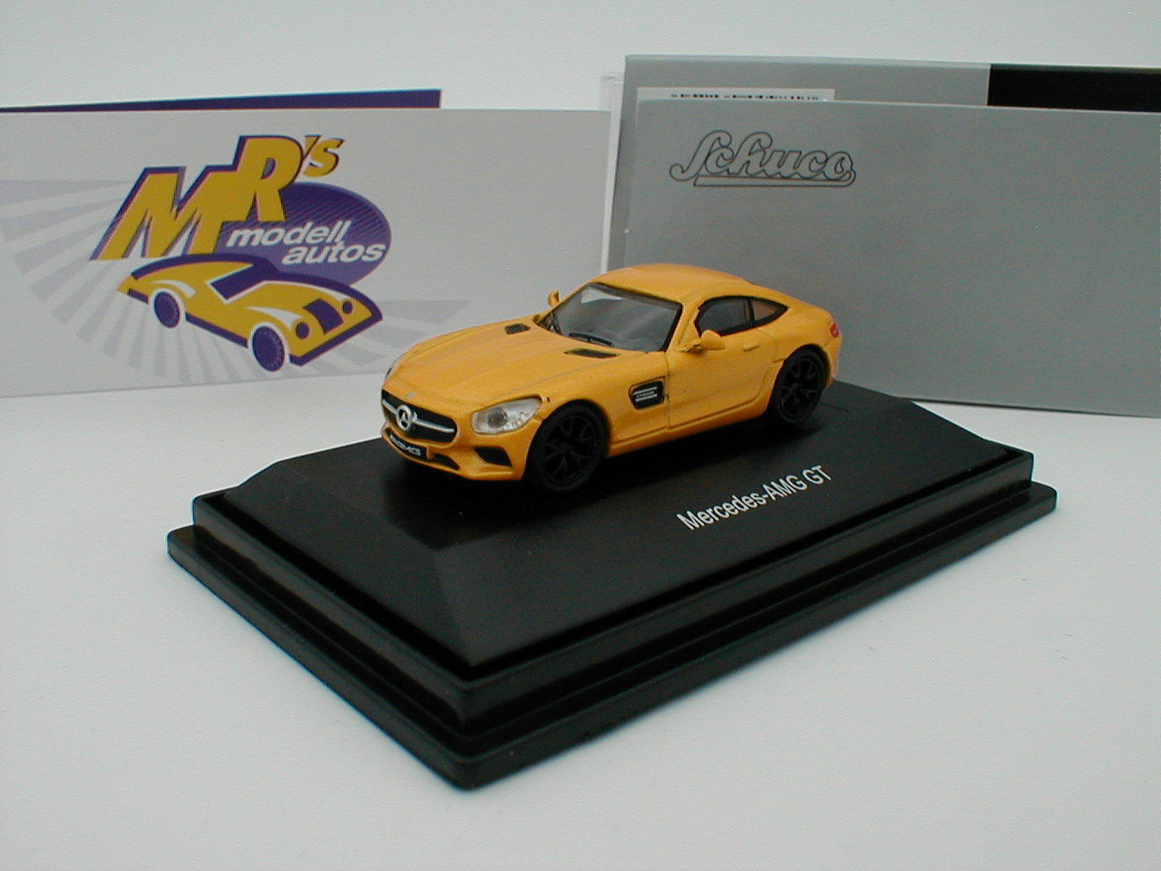 Schuco 26342 26342 26342 - Mercedes Benz AMG GT Baujahr 2016 in   yellowmetallic   1 87 NEU    ba1f95