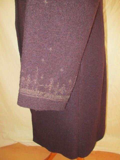 Manteau Manteau Manteau INDIES purple size 44 à - 75% 8fe2ea