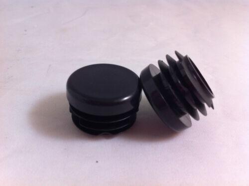 1 ¼ 10 Negro Plástico Suajes Capuchones insertos enchufe Canilla De Tubo Redondo inserto de 32 mm