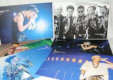 BIGBANG 2013 Big Bang Alive Galaxy Tour The Final in Seoul Taiwan Promo 6 Cards