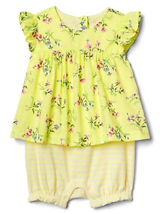GAP BABY GIRL Embroidered Flutter Top 3T 4T N550 NNN