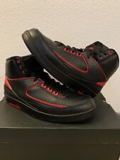 117c1368552 item 1 Nike Air Jordan 2 II Retro Black Varsity Red 'Alternate 87'  834274-001 Size 9 -Nike Air Jordan 2 II Retro Black Varsity Red 'Alternate  87' 834274-001 ...