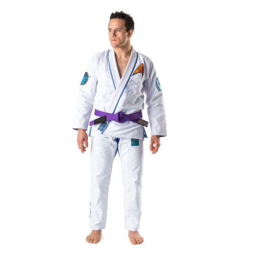 White Fusion Fight Gear Star Trek Mr Spock BJJ Gi
