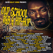 OLD SCHOOL R&B & HIP-HOP 90'S THROWBACK MIX CD