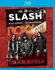 SLASH - LIVE AT THE ROXY 25.9.14  BLU-RAY NEU