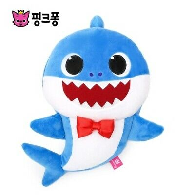 PINKFONG BABY SHARK OFFICIAL SINGING DOLL YELLOW BABY ENGLISH WOWWEE PLUSH SONG