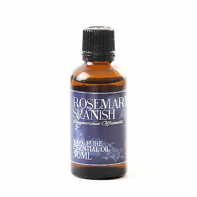 Mystic Moments Rosemary Spanish Essential Oil - 100% Pure - 50ml (EO50ROSESPAN)