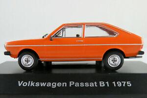 DeAgostini-14-VW-Passat-LS-1975-en-Orange-1-43-nuevo-PC-vitrina