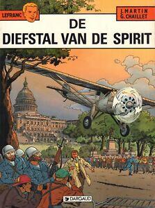 LEFRANC-13-DE-DIEFSTAL-VAN-DE-SPIRIT-Jacques-Martin