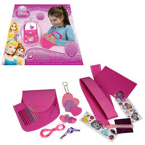 disney princess create your own sewing bag craft creative art kit