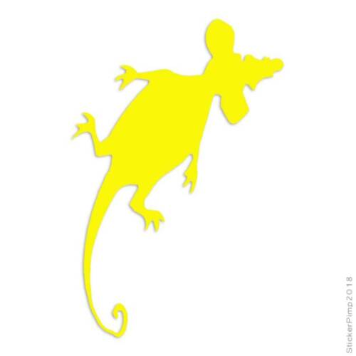 Size #563 Squished Rat Mouse Decal Sticker Choose Color