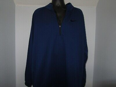Green 2XLT NWT Men/'s Nike Therma Training Quarter-Zip Pullover