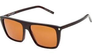 SAINT-LAURENT-Black-Square-Designer-Sunglasses-Mens