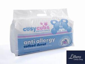 Anti Allergie Lit Bébé COUETTE Nursery Pour Bébé Junior 4.5 7.5 9.0