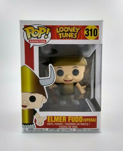 ANIMATION: LOONEY TUNES ELMER FUDD FUNKO POP #310 *UK STOCK* OPERA