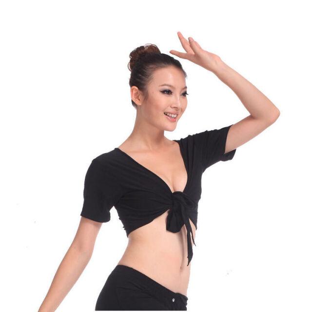 Belly Dance Costume Dancewear Dress Short Sleeves Top Choli Blouse Free Shipping