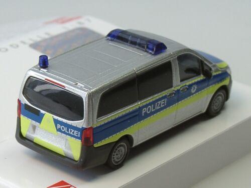 51133-1:87 Busch mercedes vito funkstreife policía Bremerhaven