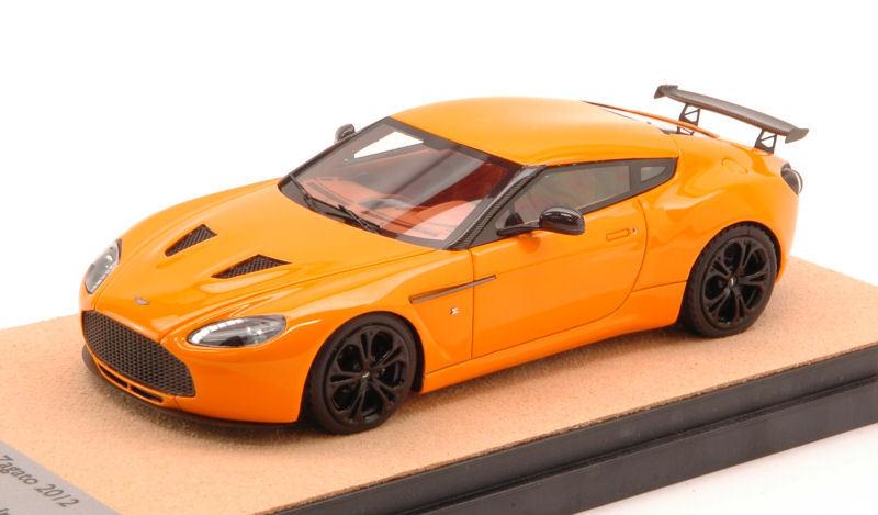Aston Martin V12 Zagato 2012 arancia Limited Edition 20 pcs 1 43 Model TECNOMODEL