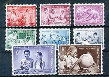 TIMBRE STAMP ZEGEL BELGIQUE INDEPENDANCE DU CONGO BELGE 1139-1146 XX