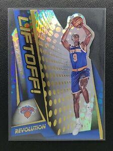 2019-20 Revolution RJ Barrett RC, Rookie Liftoff Die-Cut, New York Knicks