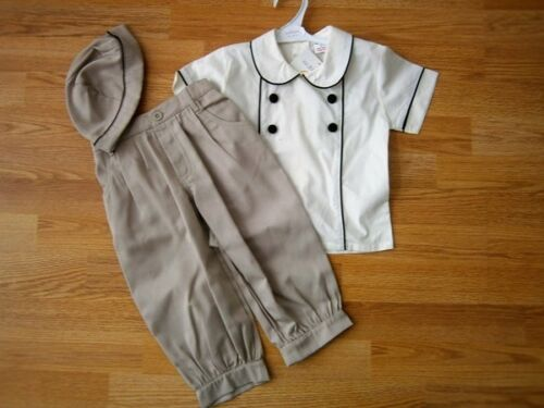 Baby boys clothes Mabini kids Spanish Romany Style Shirt trousers hat 3m 6 years