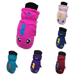 Children-Kids-Winter-Ski-Snow-Gloves-Boy-Girls-Snowboard-Wind-Waterproof-Mittens