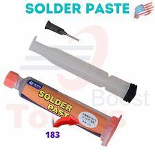 Wnb 20g Bga Tin Solder Paste Leaded Sn63pb37 Syringe Microsoldering Work