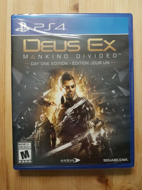 Deus Ex: Mankind Divided - Day One Edition | Sony PS4 Playstation 4 NEW