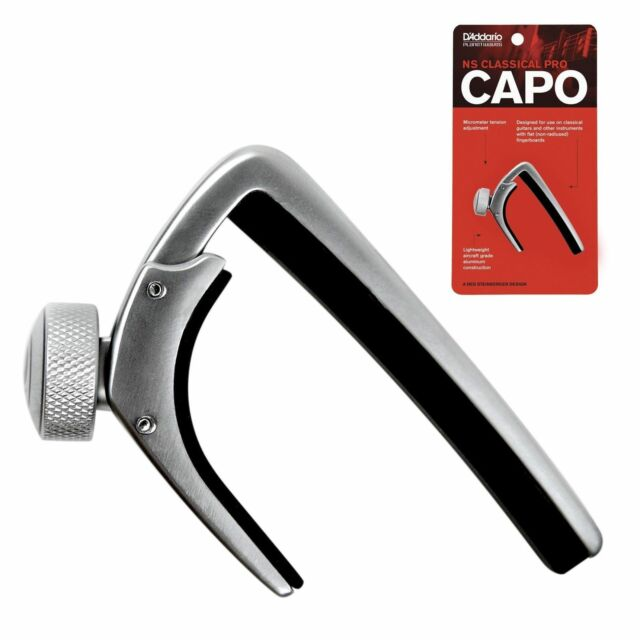 Planet Waves NS Capo Pro Silver 6//12-String Electric /& Acoustic Guitars cp-02s