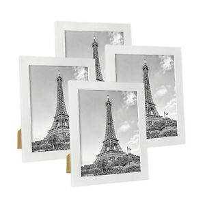 Hap Tim 8x10 Picture Frame White Wooden Photo Frames for Tabletop Display and...