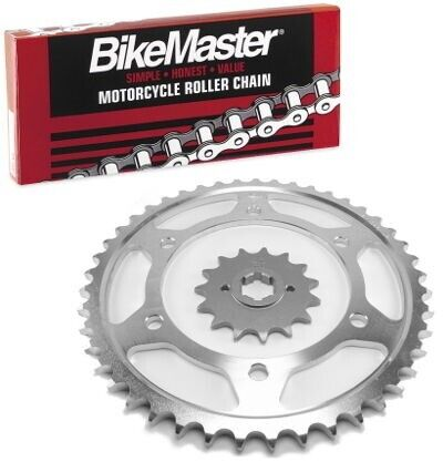 NICHE Drive Sprocket Chain Combo for Yamaha YZ80 Front 13 Rear 44 Tooth 428V O-Ring 110 Links