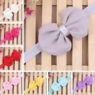 Kids Girls Baby Infant Bow Headband Toddler Chiffon Hair Band Princess Headwear