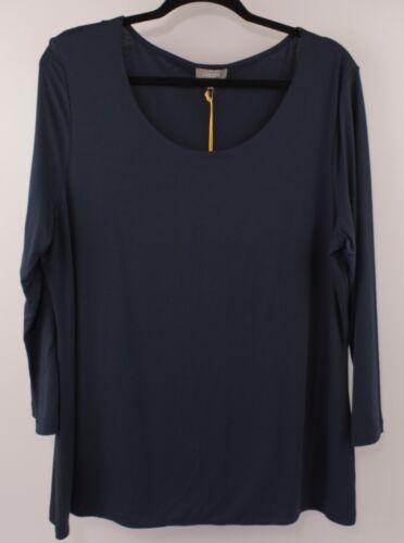 size XL JAEGER Women/'s Basic Stretch Top Blue