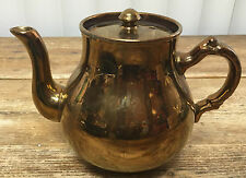 Copper Luster Teapot Tea Pot Gibson & Sons Lustre Vintage A534 English England