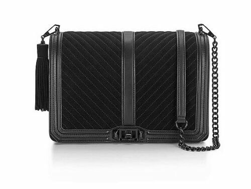 2018 sneakers exclusive range where to buy NWT Rebecca Minkoff Chevron Jumbo Love Crossbody Quilted Leather ...