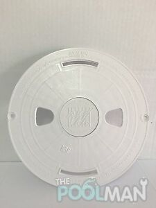 Waterway 10 white swimming pool skimmer round cover lid - Swimming pool skimmer basket covers ...