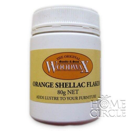 Orange Shellac Flakes Gamble & Sons Wood Furniture French Polish Varnish